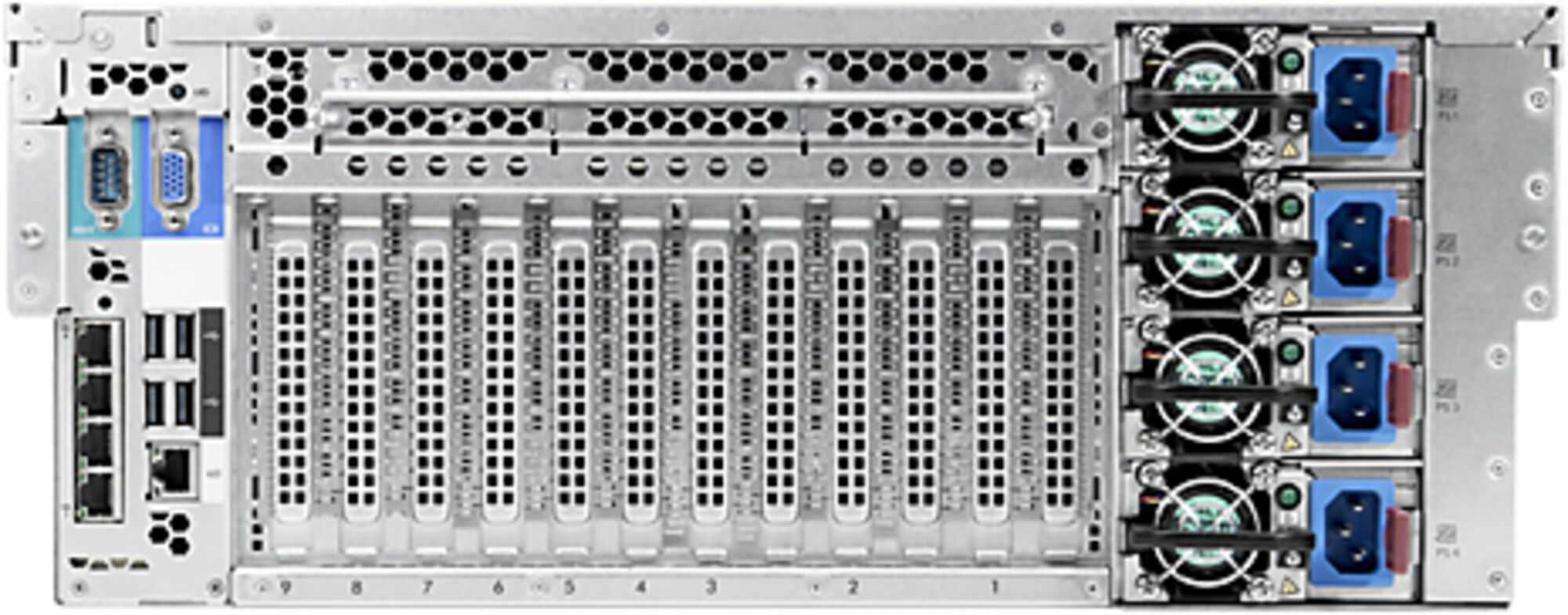 HPE ProLiant DL580 Gen8 Server CPU Render FARM 60 core 120